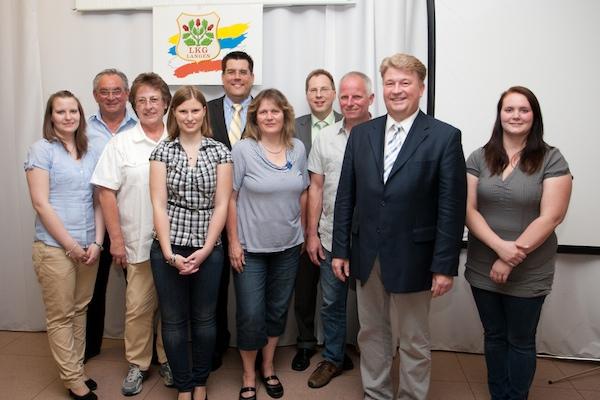 JHV 2012: Erfolgreiches Jahr für Langens Karnevalisten / Neuer LKG-Vorstand gewählt