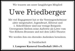traueranzeige_friedberger_uwe