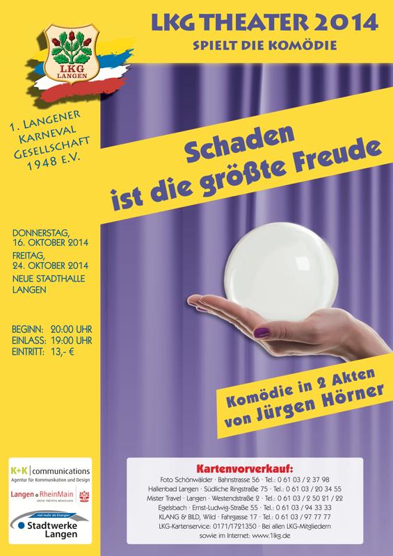 LKG Theater 2014: Schaden ist die größte Freude