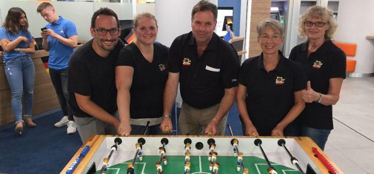 Tischfußballturnier der Volksbank Dreieich